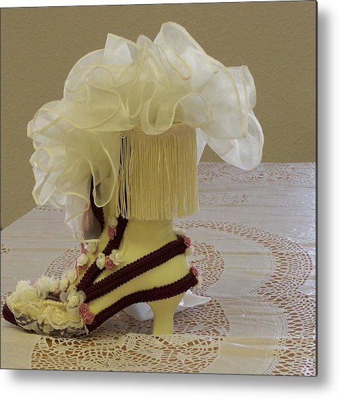 Digital Photography Metal Print featuring the photograph Ladies Tea Iv by Laurie Kidd