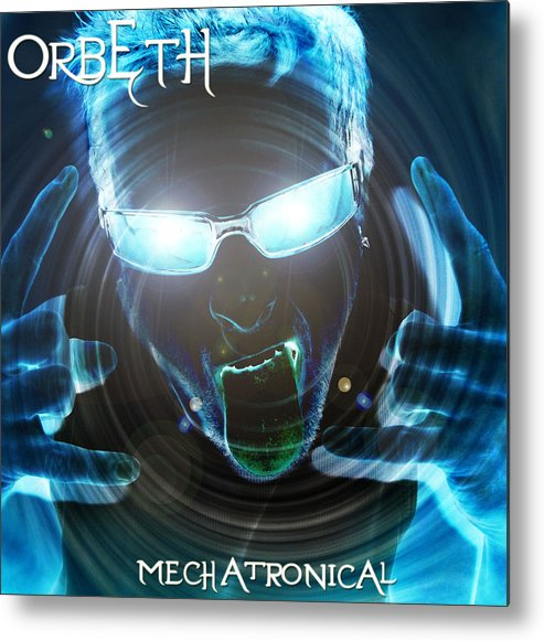 Light Metal Print featuring the digital art Mechatronical 2 by Ben White
