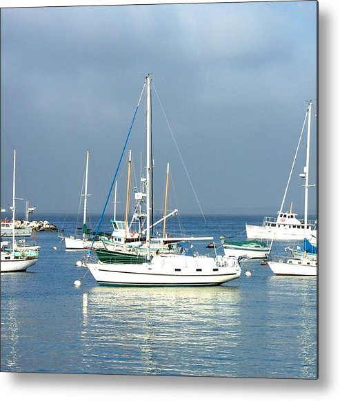 Seascapes Metal Print featuring the photograph Monterey Bay by Donna Thomas