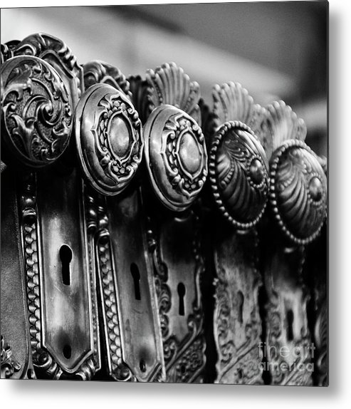 Keys Metal Print featuring the photograph Portals To The Past by Betty Doran