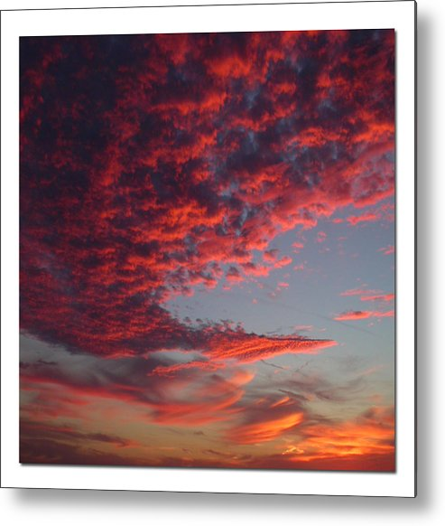 Sunset Metal Print featuring the photograph The Master Painter by Linda Murphy