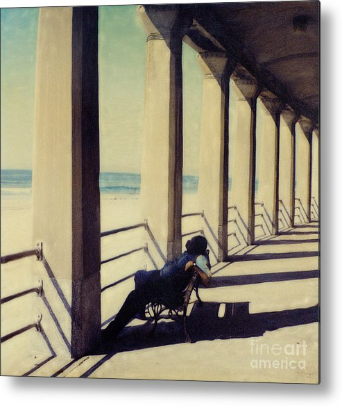 Seashore Metal Print featuring the photograph The Nap by Keith Dillon