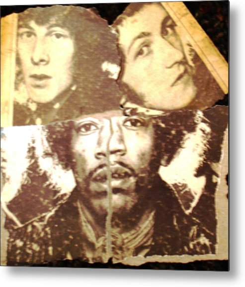 Portrait Metal Print featuring the painting Torn From Us by Michael Anthony