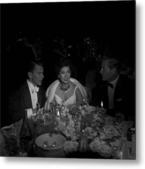 Singer Metal Print featuring the photograph 27th Academy Awards by Michael Ochs Archives
