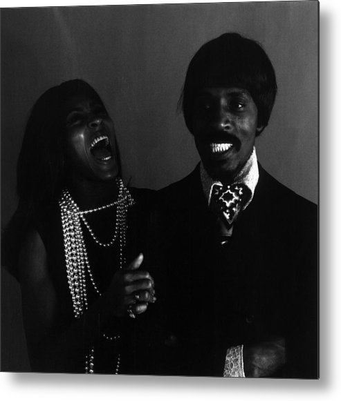 Singer Metal Print featuring the photograph Ike And Tina Turner by Jack Robinson