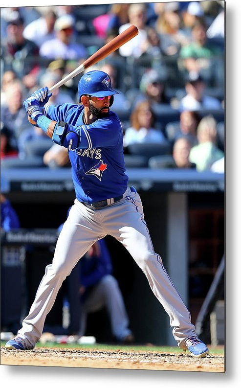 People Metal Print featuring the photograph Toronto Blue Jays V New York Yankees by Elsa