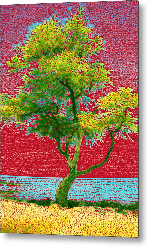 Landscape Metal Print featuring the photograph Big Island Tree by Andre Aleksis