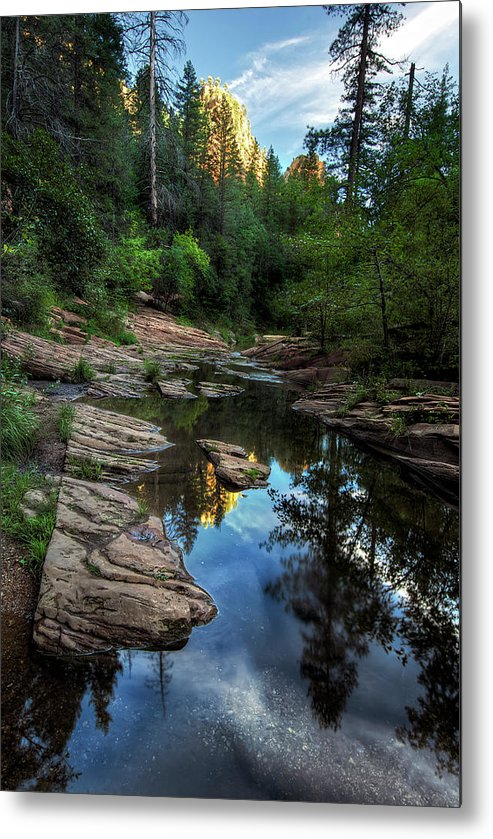 Tranquility Metal Print featuring the photograph Fall Is Right Around The Corner In by Image By Sean Foster