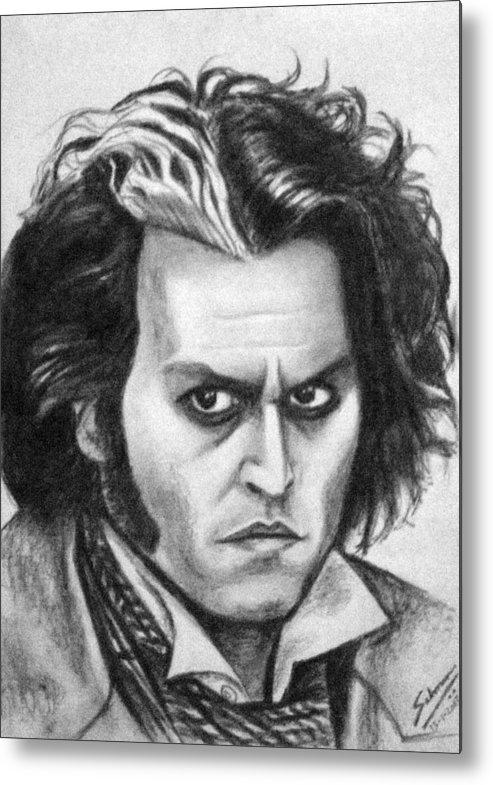 Johnny Depp Sweeney Todd  POSTER #2