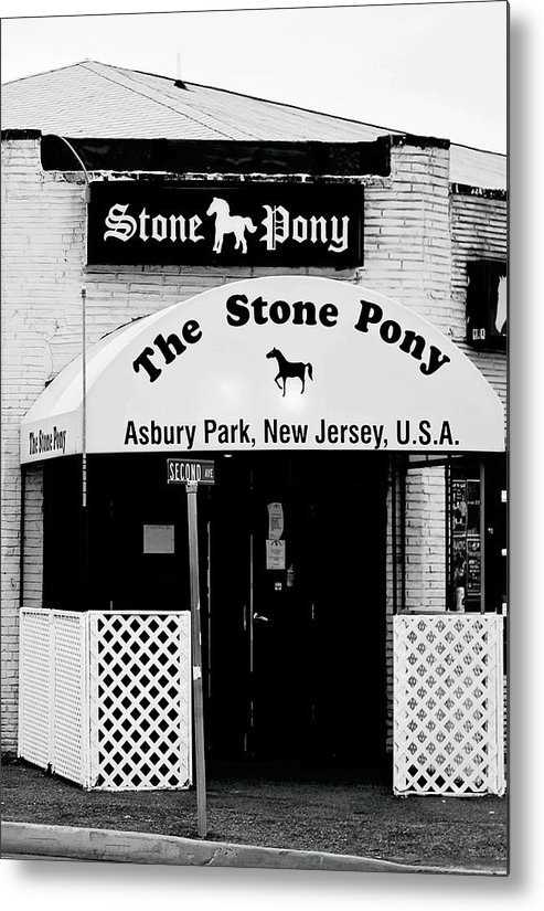 Stone Pony Metal Print featuring the photograph The Stone Pony Asbury Park NJ by Terry DeLuco