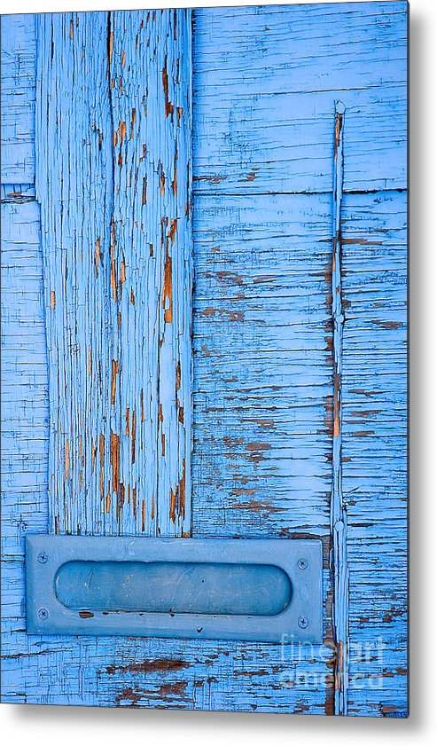 Colorado Metal Print featuring the photograph Blue Mail by Mark Braun