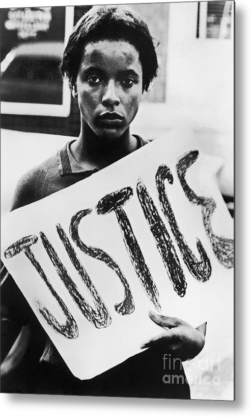1960s Metal Print featuring the photograph Civil Rights, 1961 by Granger