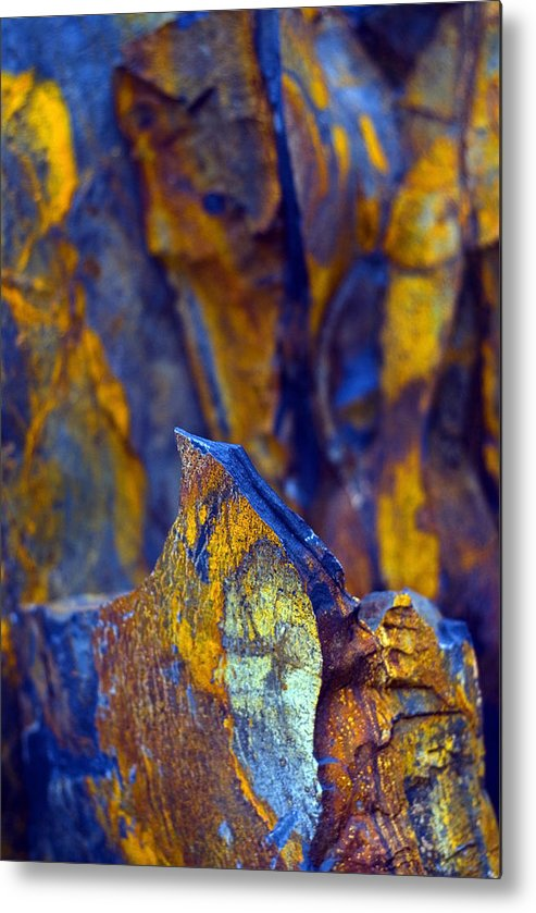 Texture Metal Print featuring the photograph First Cut is the Deepest by Skip Hunt