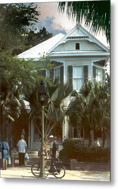Historic Metal Print featuring the photograph Keywest by Steve Karol