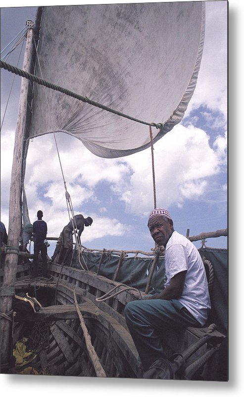 Pemba Island Metal Print featuring the photograph Pemba boat by Marcus Best