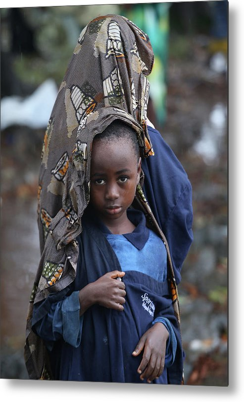 Sister Metal Print featuring the photograph Liberia Battles Spreading Ebola Epidemic by John Moore