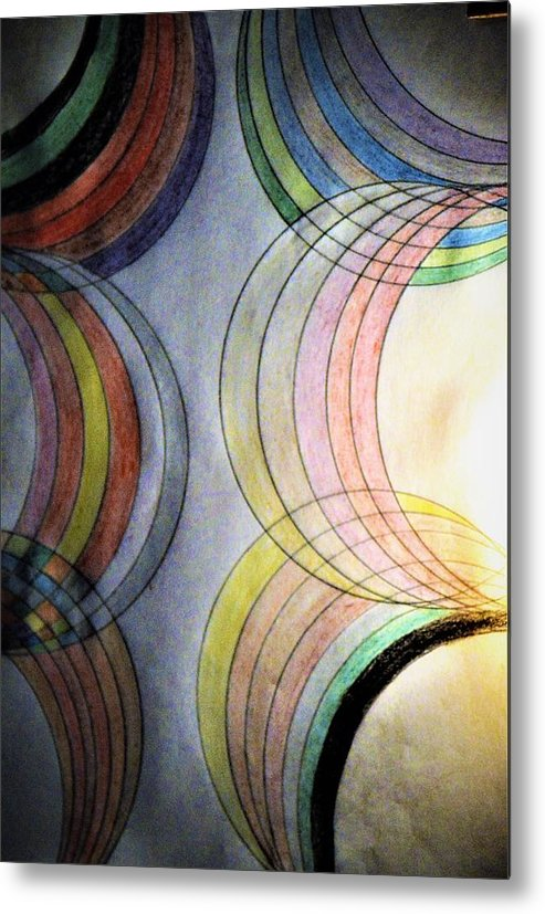 Vision Metal Print featuring the drawing Vision by Nereida Slesarchik Cedeno Wilcoxon