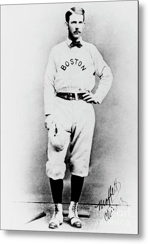 American League Baseball Metal Print featuring the photograph National Baseball Hall Of Fame Library by National Baseball Hall Of Fame Library