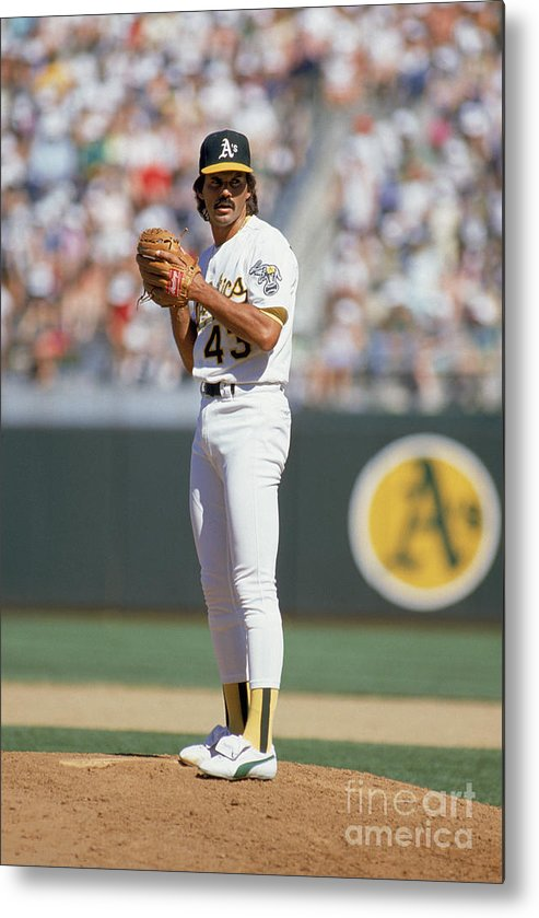 1980-1989 Metal Print featuring the photograph Dennis Eckersley by Otto Greule Jr