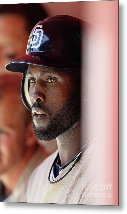 Tony Gwynn Jr. Metal Print featuring the photograph San Diego Padres V Arizona Diamondbacks by Christian Petersen