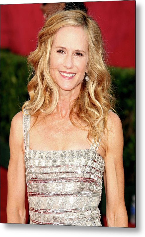 Holly Hunter Metal Print featuring the photograph 61st Annual Primetime Emmy Awards - by Jason Merritt