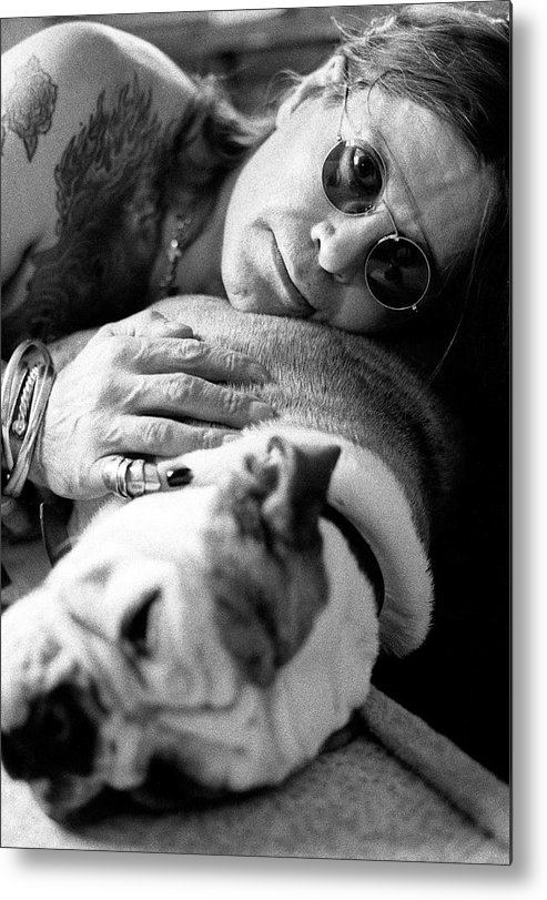 Music Metal Print featuring the photograph Ozzy Osbourne by Martyn Goodacre