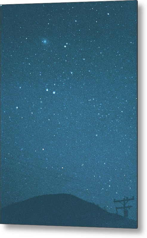 Comet Metal Print featuring the photograph Comet Iras-araki-alcock And Star by Digital Vision.