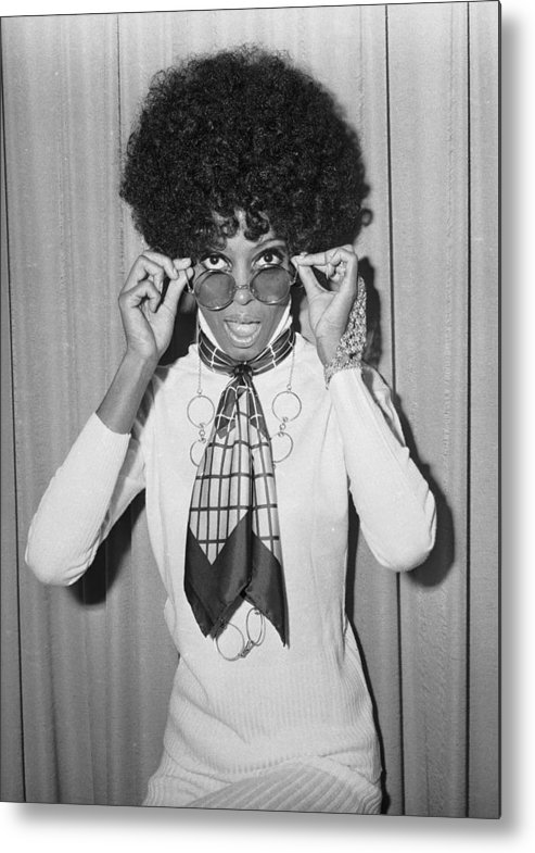 Singer Metal Print featuring the photograph Diana Ross by Larry Ellis