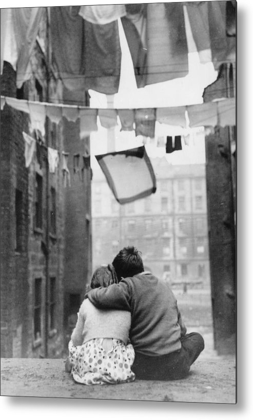Child Metal Print featuring the photograph Glasgow Romance by Keystone