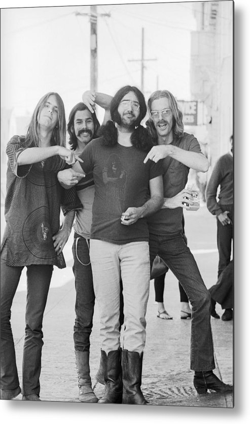Event Metal Print featuring the photograph Grateful Dead Portrait Session In Sf by Michael Ochs Archives