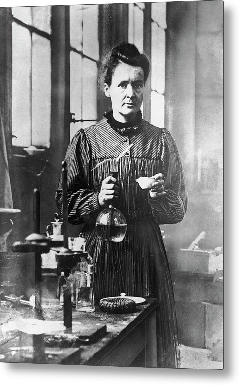 Marie Curie - Physicist Metal Print featuring the photograph Marie Curie by Hulton Archive