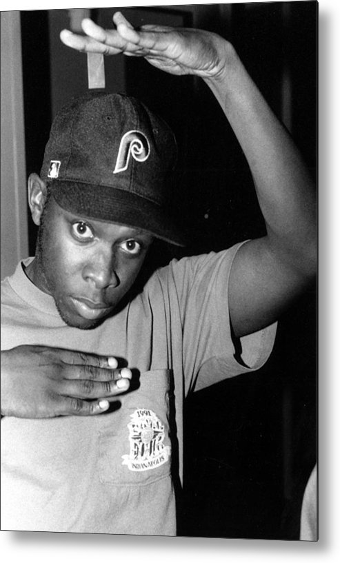 Music Metal Print featuring the photograph Photo Of A Tribe Called Quest by Al Pereira