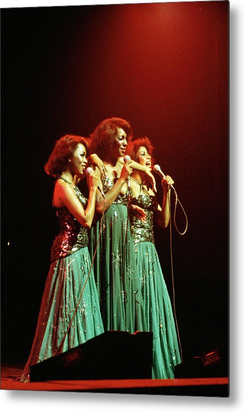 Mary Wilson Metal Print featuring the photograph Photo Of Supremes And Susaye Greene And by Keith Bernstein