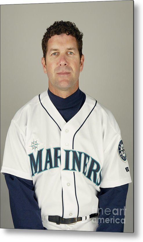 Media Day Metal Print featuring the photograph Seattle Mariners Photo Day by Harry How