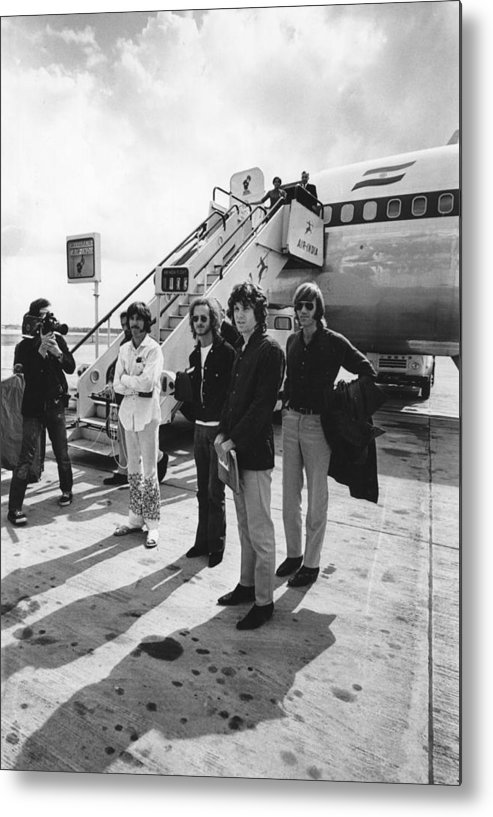 Rock Music Metal Print featuring the photograph The Doors by Express Newspapers