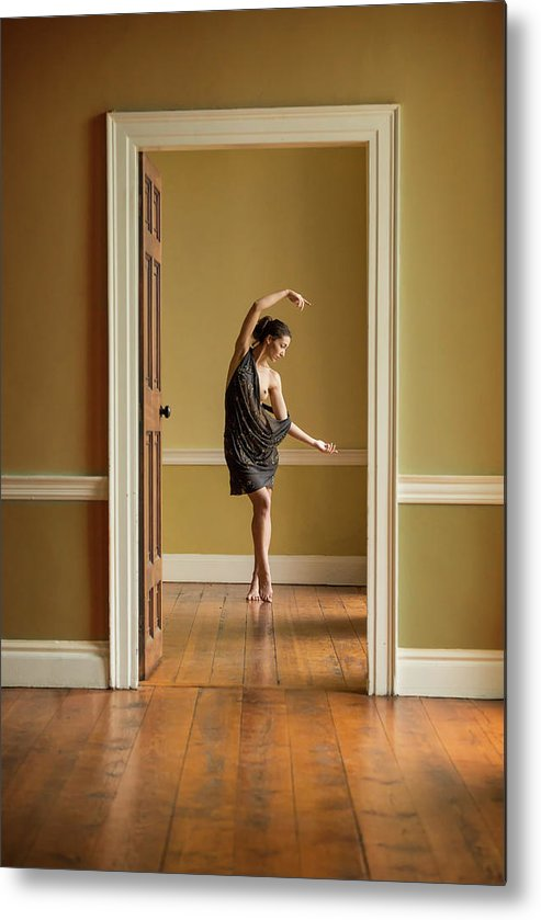 Ballet Metal Print featuring the photograph The Doorway by Ross Oscar