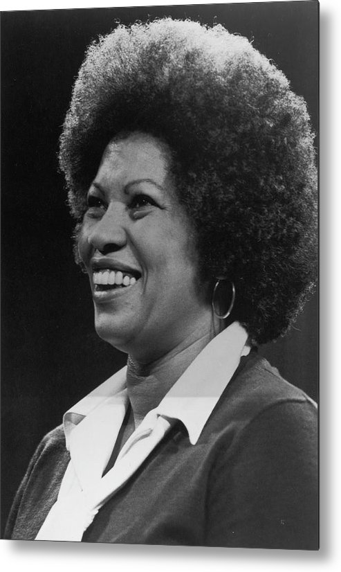 Toni Morrison Metal Print featuring the photograph Toni Morrison by Archive Photos