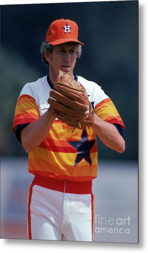 1980-1989 Metal Print featuring the photograph Don Sutton by Rich Pilling