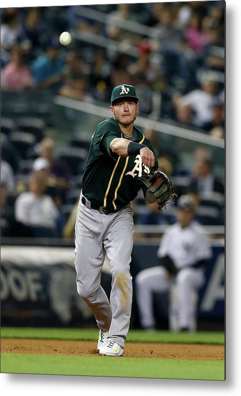 American League Baseball Metal Print featuring the photograph Josh Donaldson by Elsa