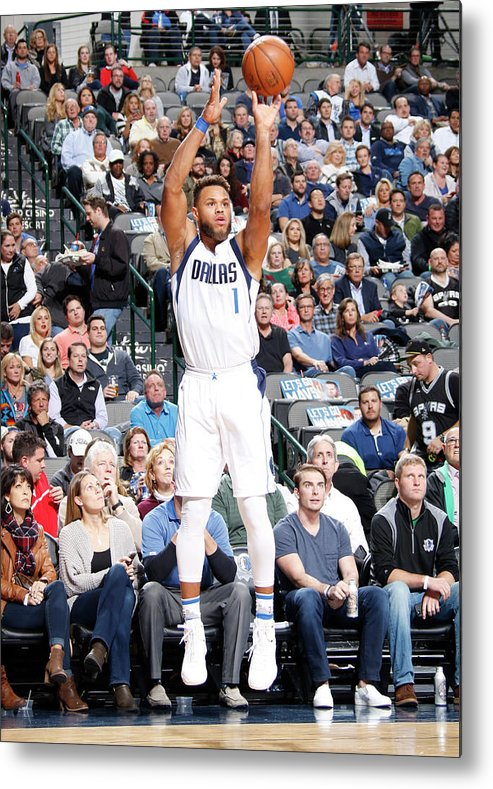 Nba Pro Basketball Metal Print featuring the photograph Justin Anderson by Danny Bollinger