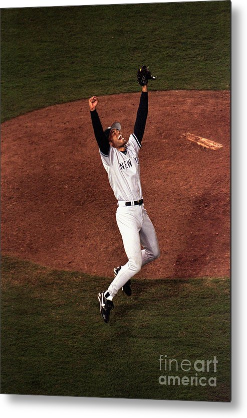 Relief Metal Print featuring the photograph Mariano Rivera by Vincent Laforet