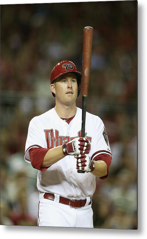 National League Baseball Metal Print featuring the photograph Mark Trumbo by Christian Petersen