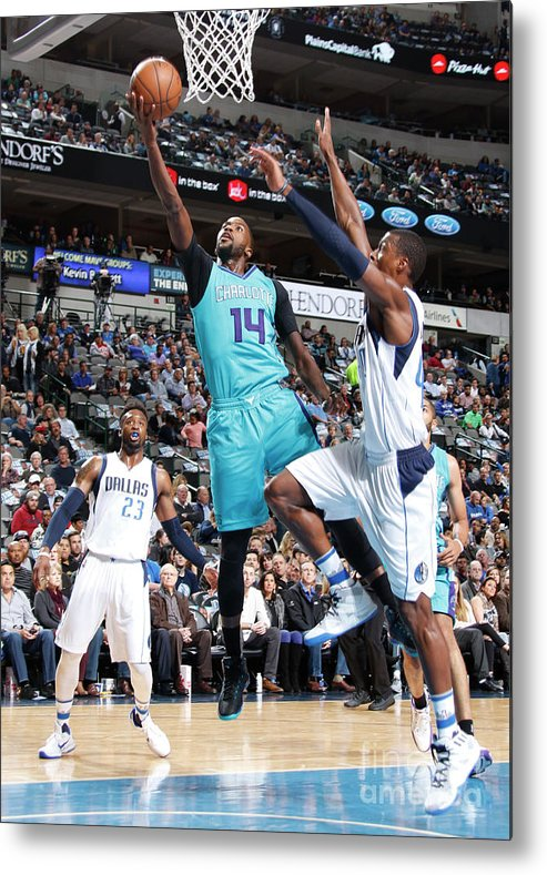 Nba Pro Basketball Metal Print featuring the photograph Michael Kidd-gilchrist by Danny Bollinger