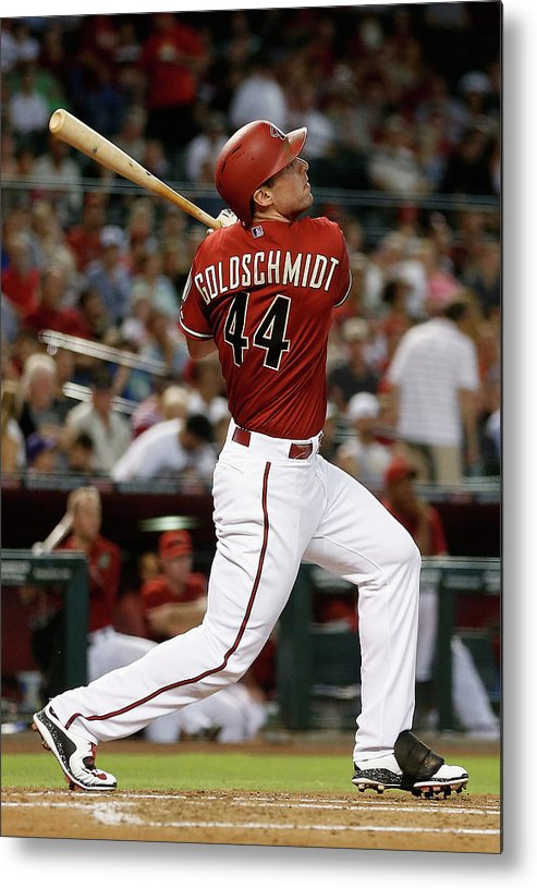 People Metal Print featuring the photograph Paul Goldschmidt by Christian Petersen