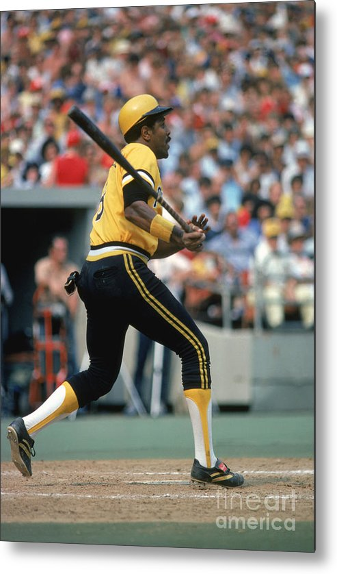 Motion Metal Print featuring the photograph Willie Stargell by Rich Pilling