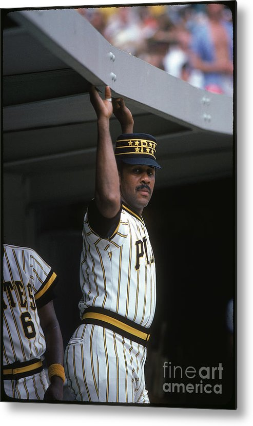 National League Baseball Metal Print featuring the photograph Willie Stargell by Rich Pilling
