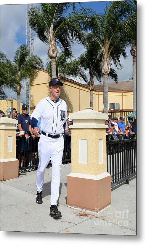 People Metal Print featuring the photograph Al Kaline by Mark Cunningham