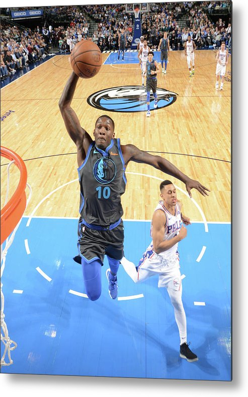 Nba Pro Basketball Metal Print featuring the photograph Dorian Finney-smith by Glenn James