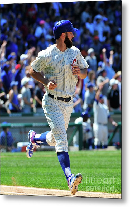 People Metal Print featuring the photograph Jake Arrieta by David Banks