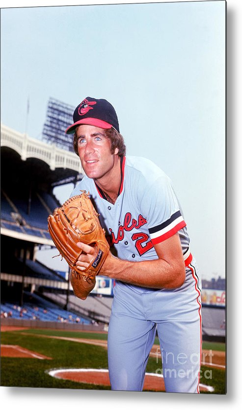 People Metal Print featuring the photograph Jim Palmer by Lou Requena